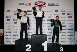 Podium PRO2: first place Travis Reeder, second place Matt Vankirk, third place Brody Goble