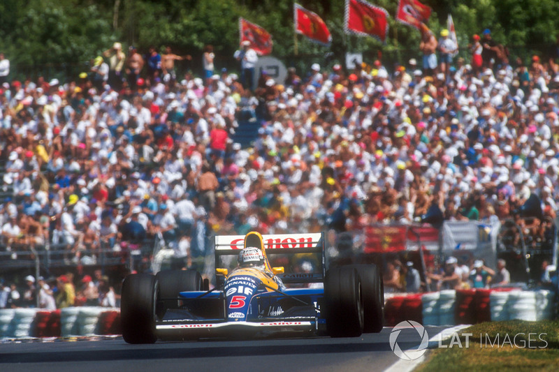 6. Nigel Mansell, 1991 Canadian Grand Prix