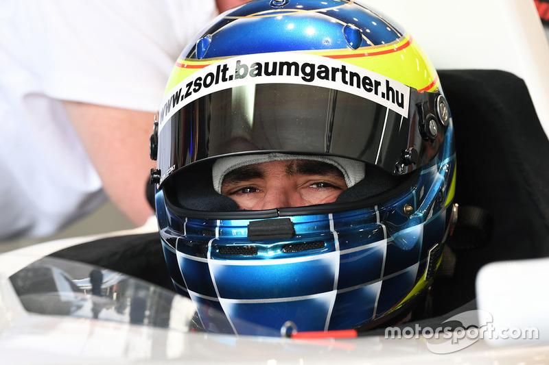 Zsolt Baumgartner, F1 Experiences 2-Seater driver