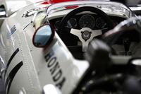 Historic Honda RA300 on display