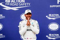 Lewis Hamilton, Mercedes AMG F1, nach seiner 69. Pole-Position