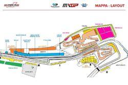 Mapa MXGP Imola