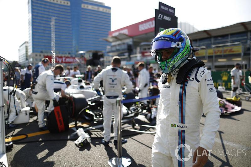 Abandon : Felipe Massa (Williams)