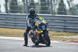 #27 RACEPARTS by DUCATI Salzburg, Yamaha: Adolf Kernstock, Marco Nekvasil, Andreas Fichtenbauer
