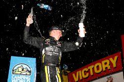 Race winner John Hunter Nemechek, SWM-NEMCO Motorsports Chevrolet celebrates