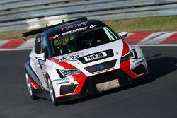 Benedikt Gentgen, Marcell Willert, SEAT León, FEV Racing
