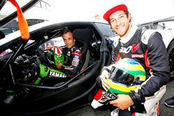Johann Zarco, Monster Yamaha Tech 3 and Bruno Senna