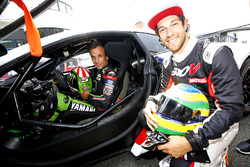 Johann Zarco, Monster Yamaha Tech 3 and Bruno Senna
