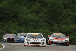 #24 Ian Lacy Racing Ginetta G55: Frank Gannett, #04 GMG Racing McLaren 570S GT4: George Kurtz