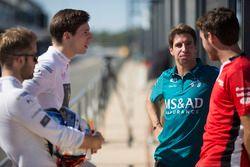 Sam Bird, DS Virgin Racing, Alex Lynn, DS Virgin Racing, Antonio Felix Da Costa, Andretti Formula E