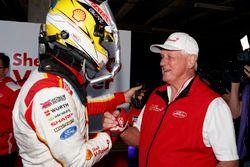 Polesitter Scott McLaughlin, DJR Team Penske with Dick Johnson