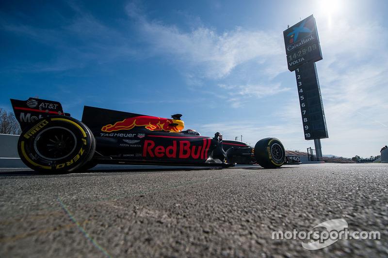#3 Daniel Ricciardo, Red Bull Racing RB13