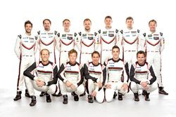 Porsche pilotos 2017