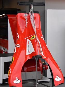 Ferrari SF70H, Motorabdeckung