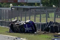 Todd Hazelwood, Brad Jones Racing Holden crash