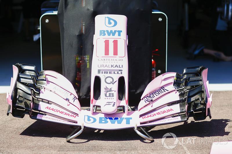 Sahara Force India F1 VJM10: Frontpartie