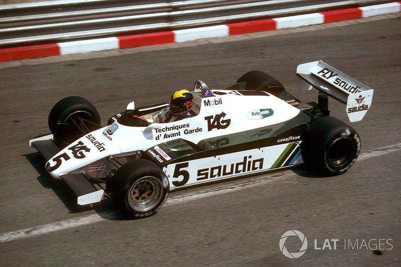 Platz 6: Carlos Reutemann/Mario Andretti/Derek Daly - 1982