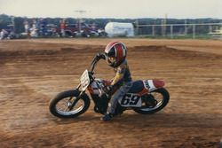 Nicky Hayden fa dirt track