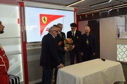 Il momento della consegna del Trofeo Bandini 2017