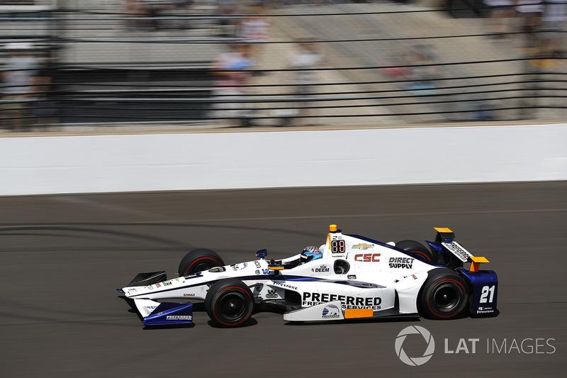 16. J.R. Hildebrand, Ed Carpenter Racing, Chevrolet