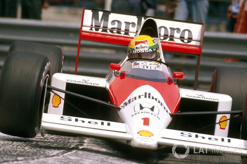 Ayrton Senna - McLaren MP4 / 5-Honda - GP de Mónaco 1989