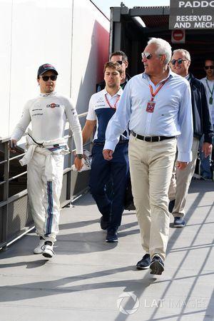 Felipe Massa, Williams, mit Lawrence Stroll