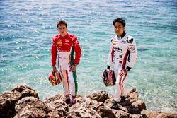 Charles Leclerc, PREMA Racing, Nobuharu Matsushita, ART Grand Prix