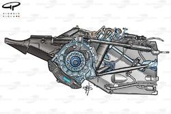 Suspension de la Williams FW25