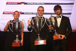 2016 Sprint Cup AM Cup Teams, AF Corse, 1st place, Rinaldi Racing, 2nd place, Kessel Racing, 3rd place