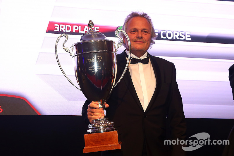 2016 Endurance Cup Pro-AM Cup equipos, ISR, segundo lugar