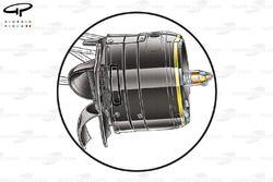 Red Bull RB8 front brake drum