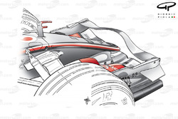 McLaren MP4-22 2007 front wing and nose