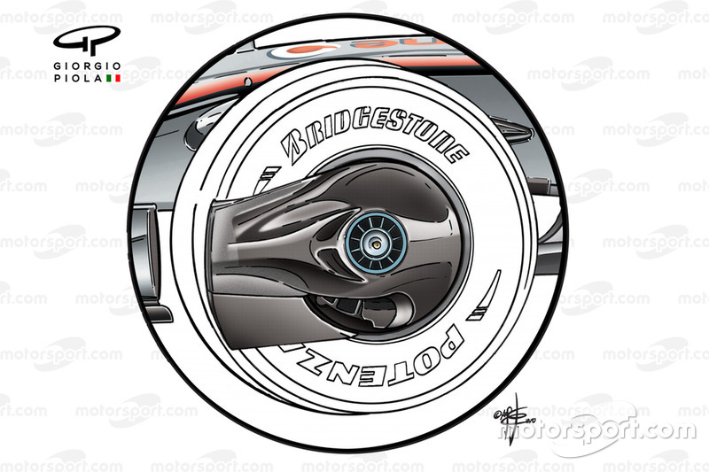 Tapacubo del McLaren MP4-23