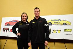 Erica Enders-Stevens and Jeg Coughlin