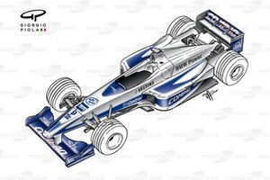 Williams FW22 2000 overview