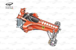 Châssis de la Ferrari F2005