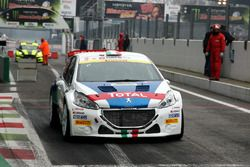 Paolo Andreucci, Anna Andreussi, Peugeot