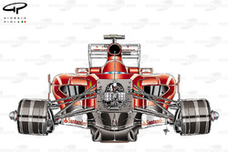 Ferrari F150 chassis, front view