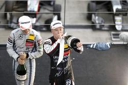 Podium : Nikita Mazepin, Hitech Grand Prix, Dallara F317 - Mercedes-Benz