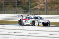 #8 Audi Sport racing academy, Audi R8 LMS: Pierre Kaffer, Ricardo Feller
