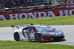 #93 RealTime Racing Acura NSX GT3: Peter Kox