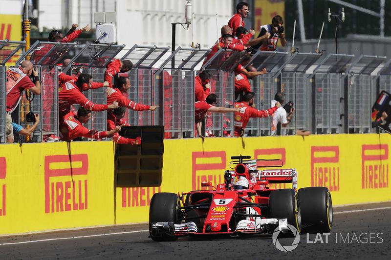 2017: Себастьян Феттель, Ferrari SF70H