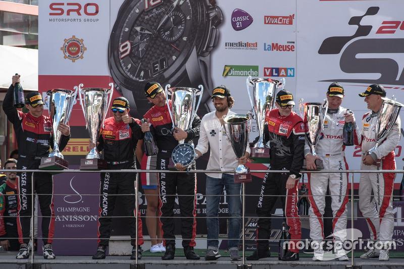 1. AM-Cup: #888 Kessel Racing Ferrari 488 GT3: Jacques Duyver, Marco Zanuttini, David Perel, Niki Ca