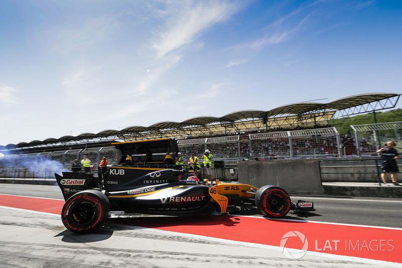 Robert Kubica, Renault Sport F1 Team RS17.