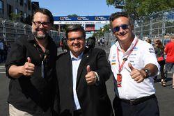 Denis Coderre, Mayor of Montreal, with Alejandro Agag, Formula E CEO, CEO, Formula E
