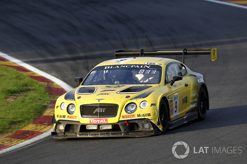 #9 Bentley Team ABT Bentley Continental GT3: Ніко Вердонк, Крістер Єнс, Джордан Пеппер