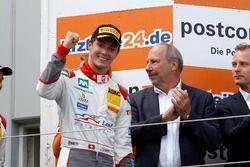 Podium: 3. #2 Montaplast by Land-Motorsport, Audi R8 LMS: Jeffrey Schmidt