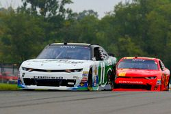 Blake Koch, Kaulig Racing Chevrolet, Justin Allgaier, JR Motorsports Chevrolet
