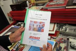 Fredy Lienhard, Autobau, Dossier de sponsoring de Neel Jani en 2001,