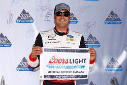 Ganador de la pole Sam Hornish Jr., Team Penske Ford